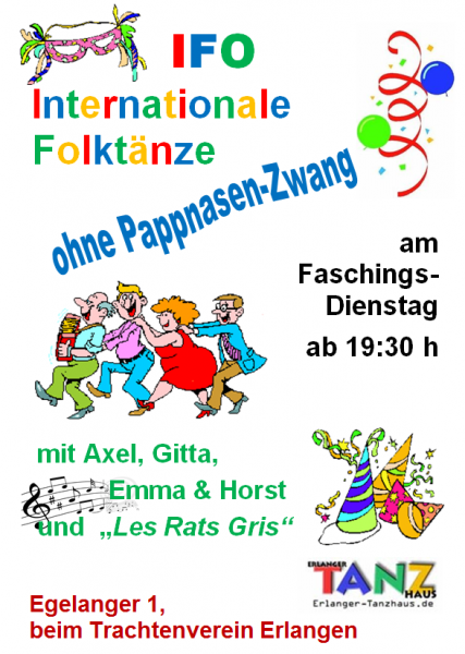 Flyer IFO-Fasching